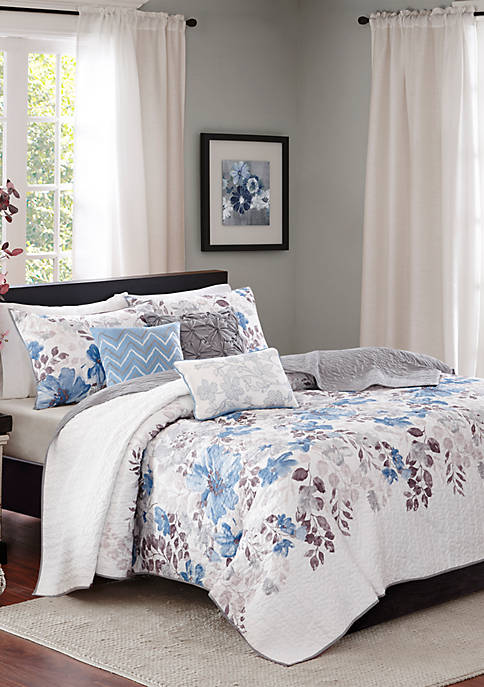 Malone 6-Piece Quilted Coverlet Set