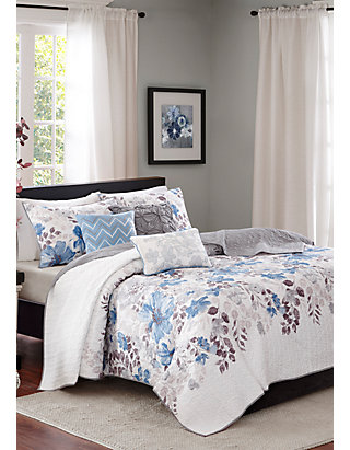 Madison Park Malone 6 Piece Quilted