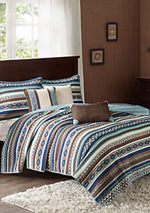 Luna 6-Piece Quilted Coverlet Set