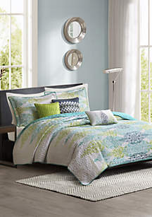 Sonali 6-Piece Quilted Coverlet Set