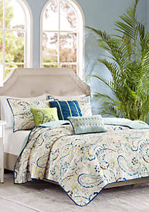 Madison Park Tamira 6-Piece Coverlet Set