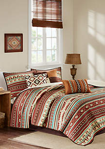 Madison Park Taos 6-Piece Coverlet Set