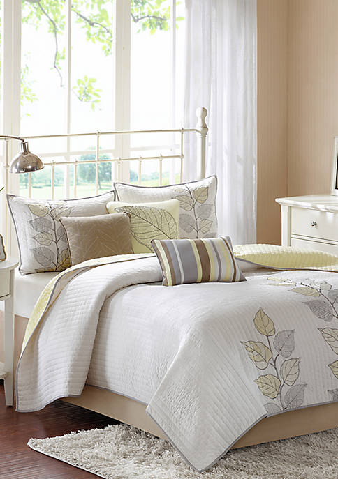 Madison Park Caelie 6-Piece Coverlet Set