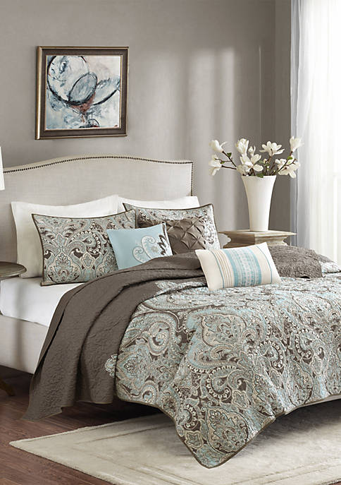 Geneva 6-Piece Quilted Coverlet Set