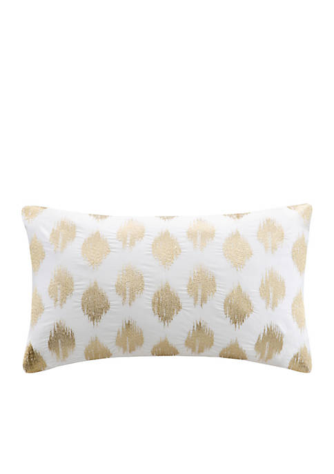 INK + IVY® Nadia Dot Metallic Print Oblong
