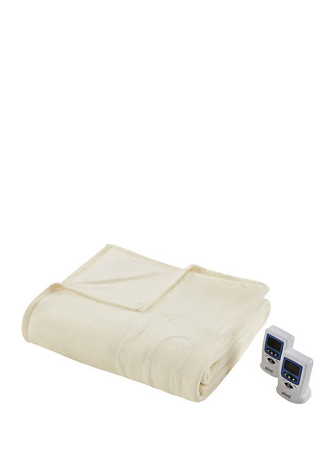Beautyrest Electric Micro Fleece Heated Blanket