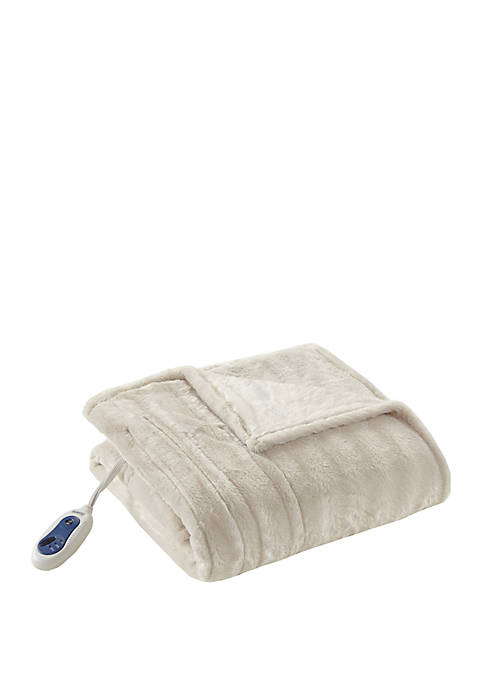 Beautyrest Heated Duke Throw