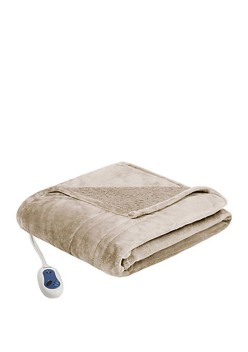 Beautyrest Heated Microlight to Berber Blanket