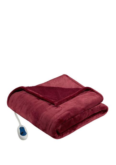 Heated Microlight to Berber Blanket