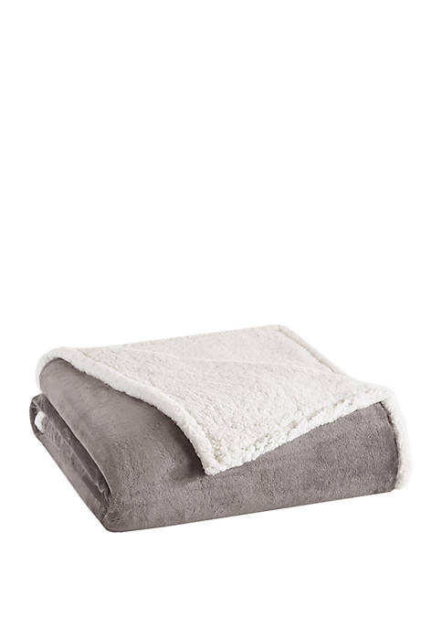 Madison Park Microlight to Berber Blanket