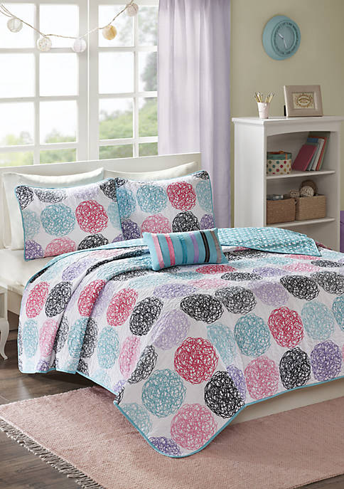 Carly Reversible Coverlet Set