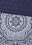 Odette Coverlet Set - Blue