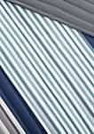 Intelligent Design Paul Coverlet Set - Blue