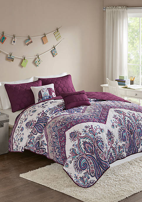 Intelligent Design Tulay Coverlet Set