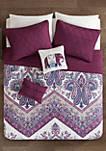 Tulay Coverlet Set - Purple