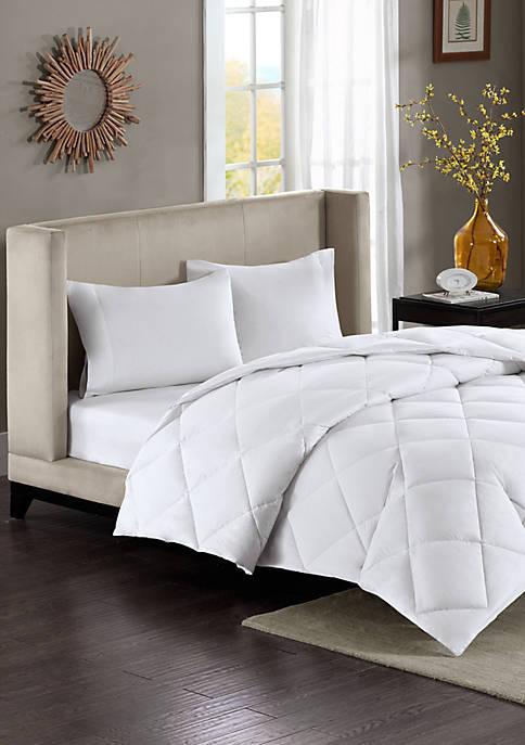 Maximum Warmth Sateen White Down Alternative Thinsulate Comforter