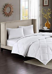 Sleep Philosophy Maximum Warmth Sateen White Down Alternative Thinsulate Comforter