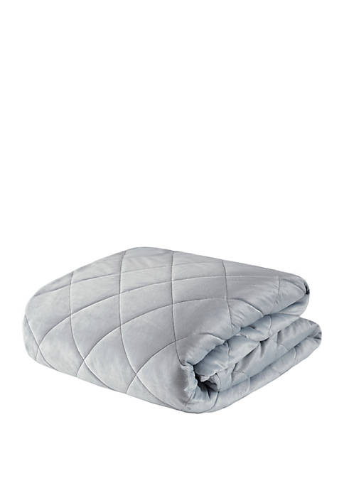 Beautyrest Luxury Quilted Mink 12 lb Weighted Blanket