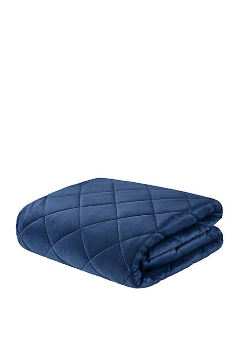 Beautyrest Luxury Quilted Mink 18 lb Weighted Blanket