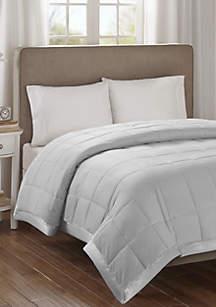 Madison Park Cambria Premium Oversized Hypoallergenic Down Alternative Blanket with 3M Scotchgard