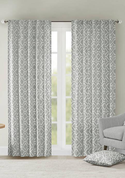 Delray Diamond Window Curtain