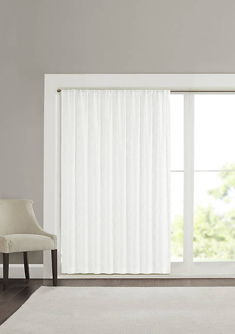 Madison Park Irina Diamond Sheer Window Curtain
