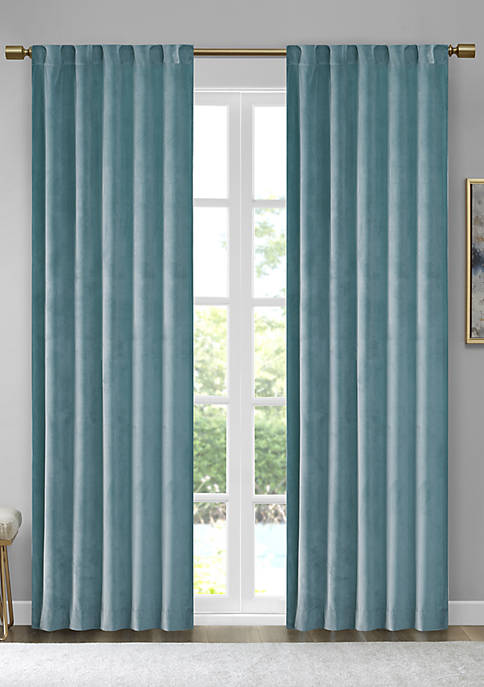 510 Design Colt Room Darkening Poly Velvet Rod