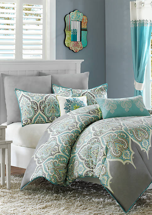 Madison Park Nisha Duvet Cover Set