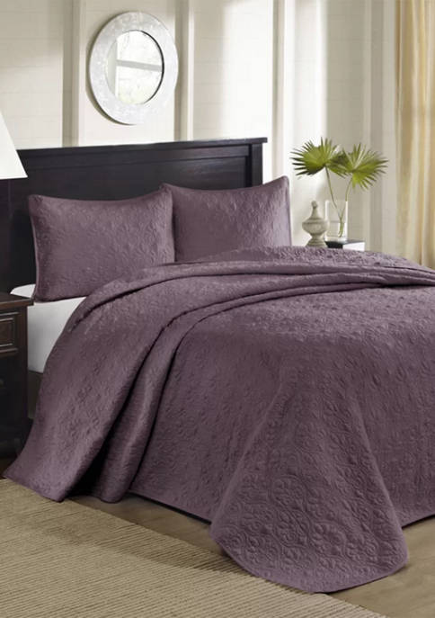 Madison Park Quebec Reversible Bedspread Set