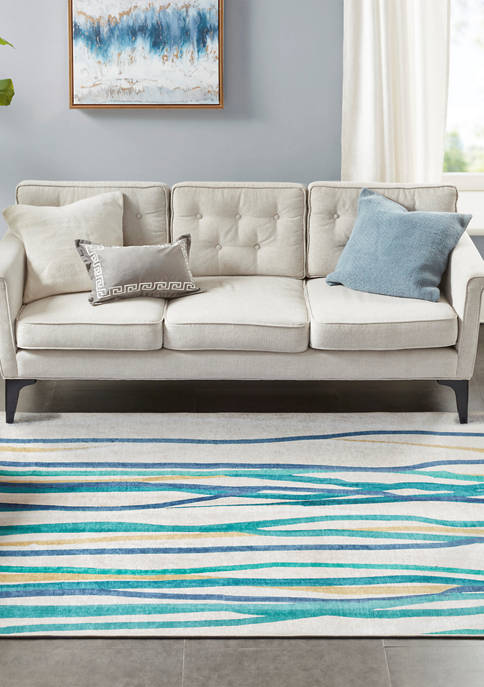 Madison Park Metropolitan Printed Imagine Area Rug