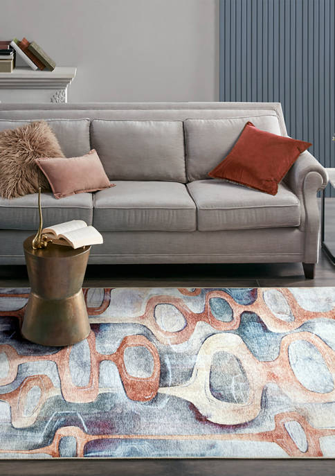 Madison Park Titan Printed Matte Area Rug