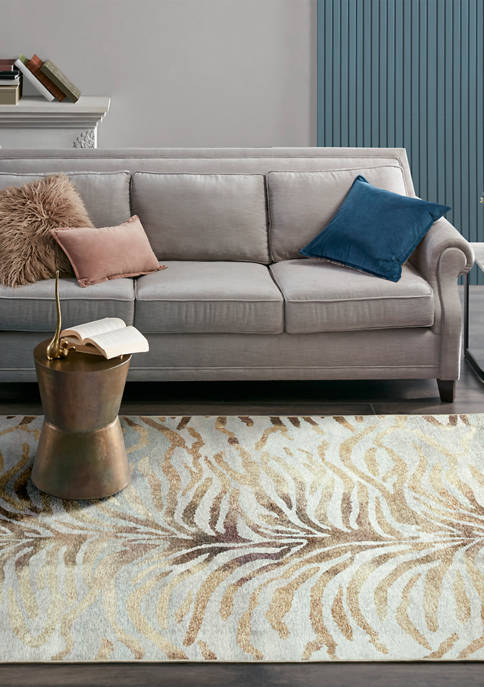 Madison Park Elevation Printed Matte Area Rug