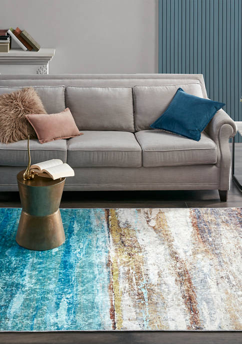 Vista Printed Shiny Area Rug