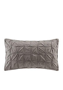 Jane Embroidered Oblong Pillow