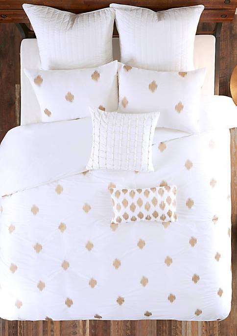Stella Dot Cotton Oblong Pillow