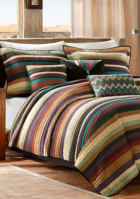 Yosemite Quilted Coverlet Set