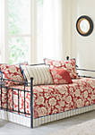 Lucy 6-Piece Cotton Twill Reversible Daybed Set