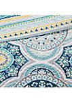 Mercia 6-Piece Reversible Cotton Sateen Coverlet Set