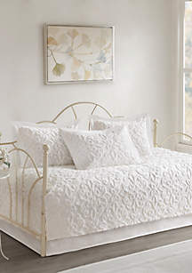 Sabrina 5-Piece Cotton Chenille Daybed Set