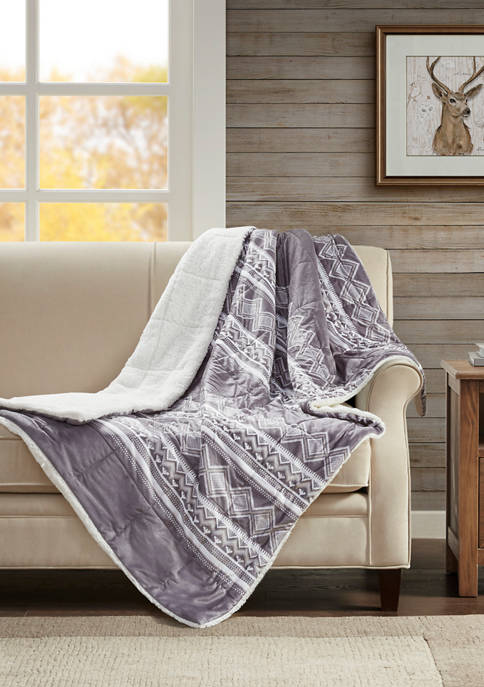 Anderson Print Mink Down Alternative Filled Throw