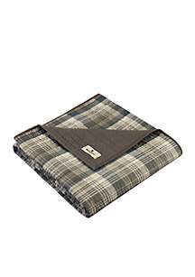 Woolrich Tasha Quilted Throw Taupe