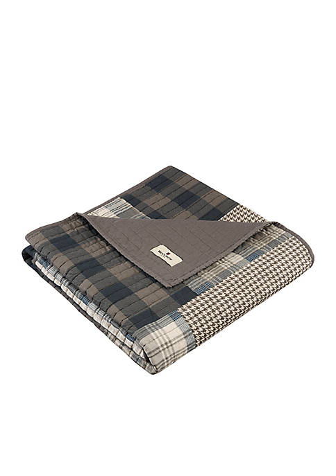 Winter Plains Quilted Throw