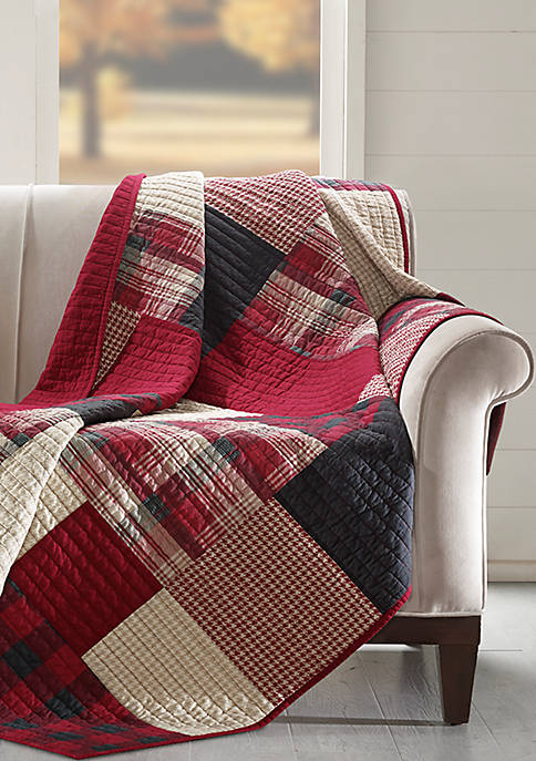 Sunset Quilted Throw