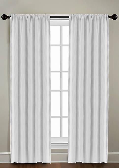 Gotham Linen Rod Pocket Window Panel 50-in. x 84-in.