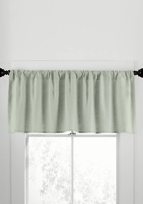 Gotham Linen Tailored Valance 50-in. x 17-in.