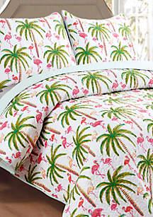 Flamingo Quilt Set