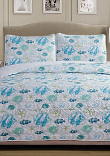 Panama Jack® Fish Quilt Set