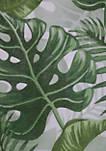Banana Leaf Grommet Top Outdoor Panel