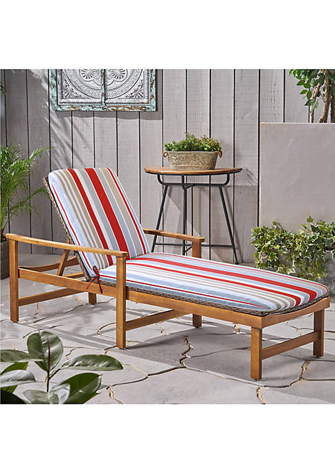 Commonwealth Home Fashions Allure Lounger Patio Cushion