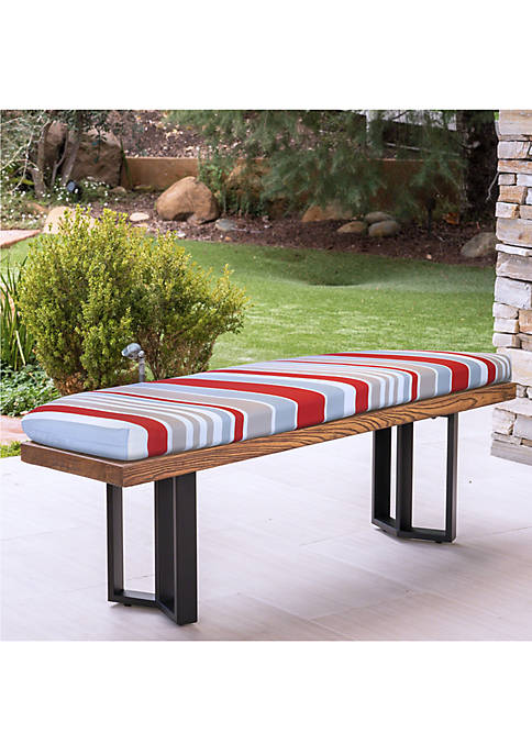 Commonwealth Home Fashions Allure Bench Seat Patio Cushion